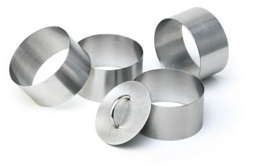 mousse ring, 5-delig 6 x 6 x 4,5 cm