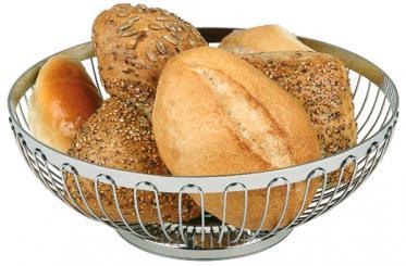 brood- en/of fruitmand 18 x 18 x 7 cm