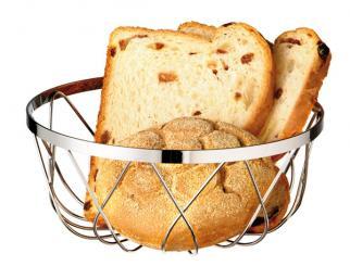 brood- en/of fruitmand 18 x 18 x 7,5 cm